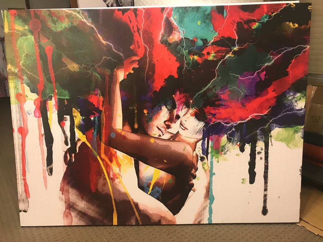 High Quality Canvas Print 1200x900 Framed with uv coated