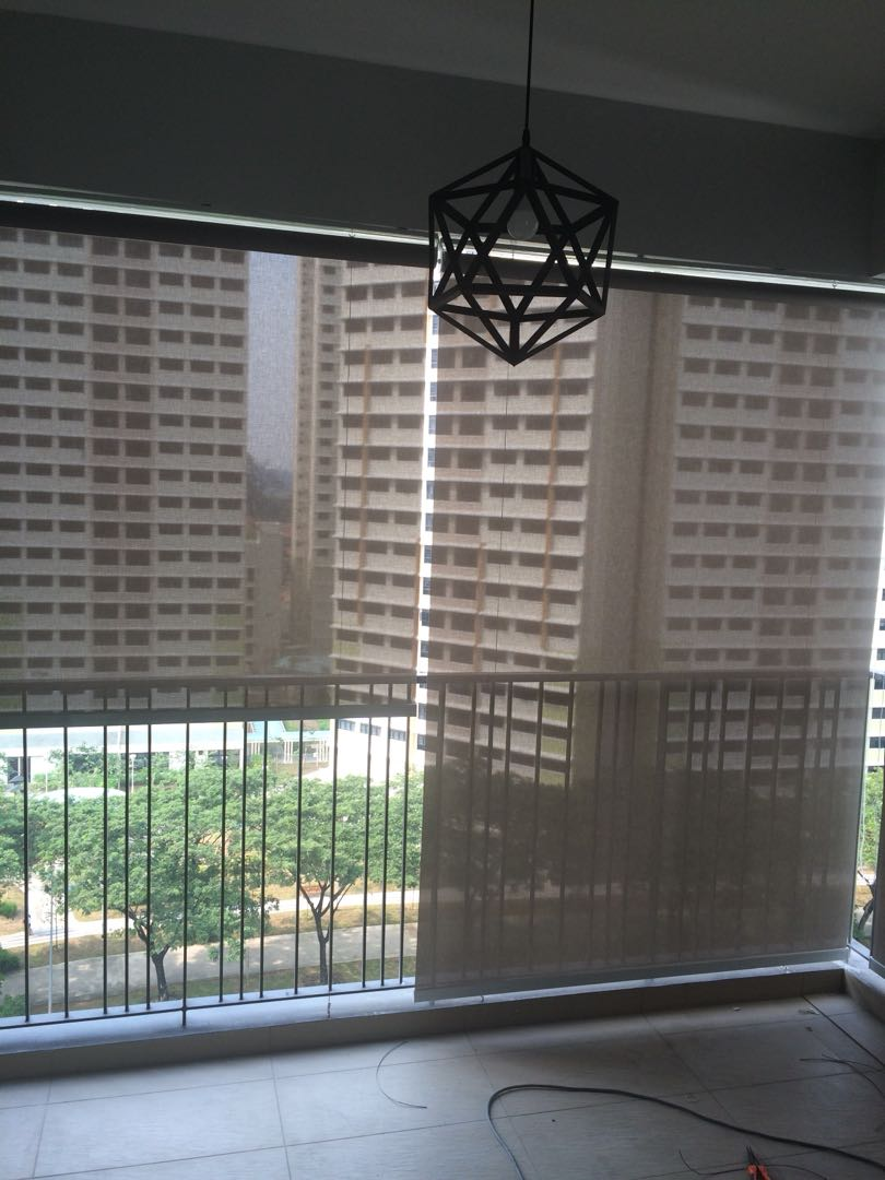 High Quality Heavy Duty Outdoor Roller Blind