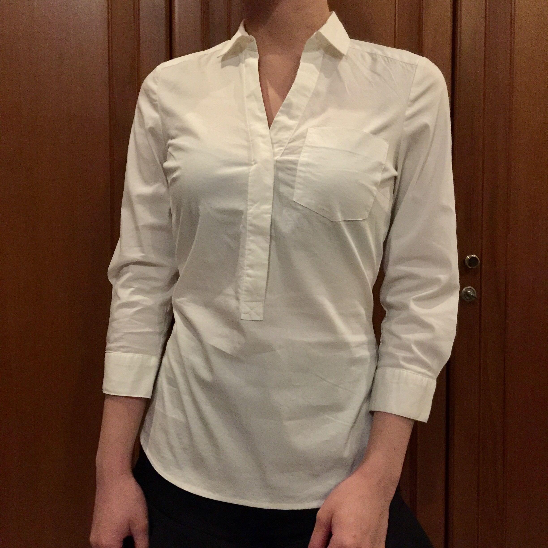 H&M Broken White Shirt