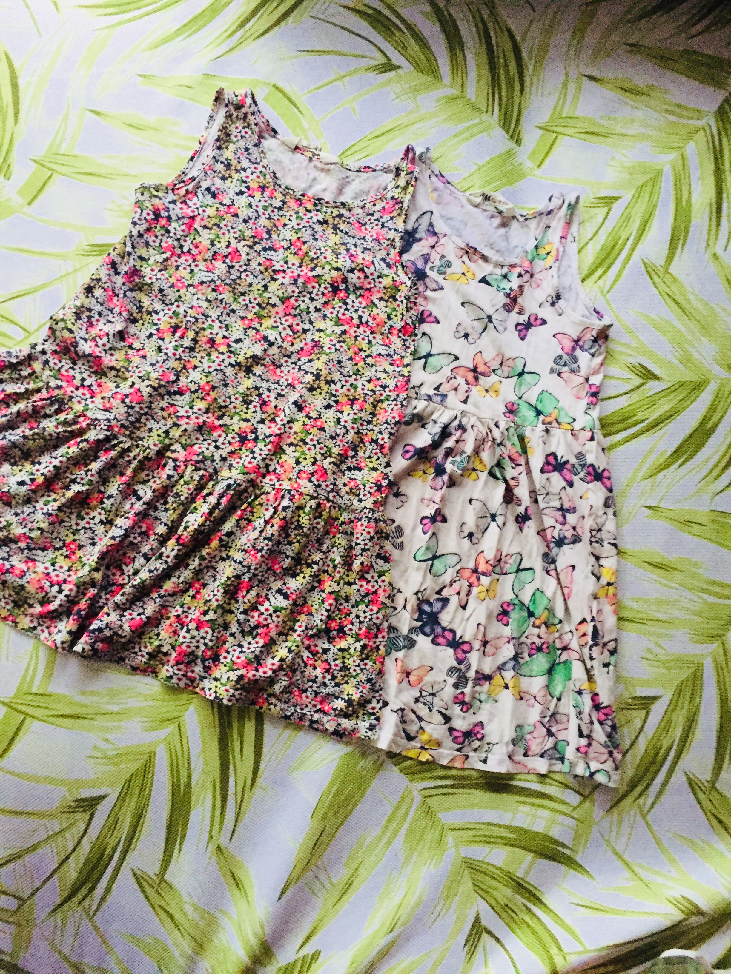 H&M dresses flowers 🌺 and butterflies 🦋