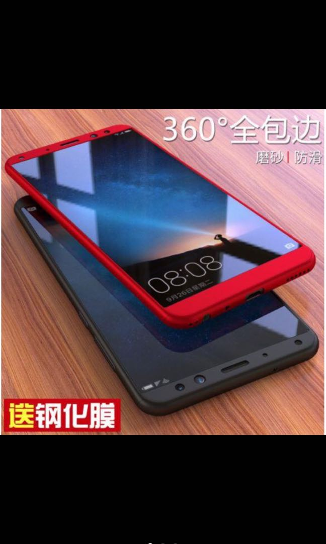 Huawei Nova 2i 360 full cover slim fit with glass case
