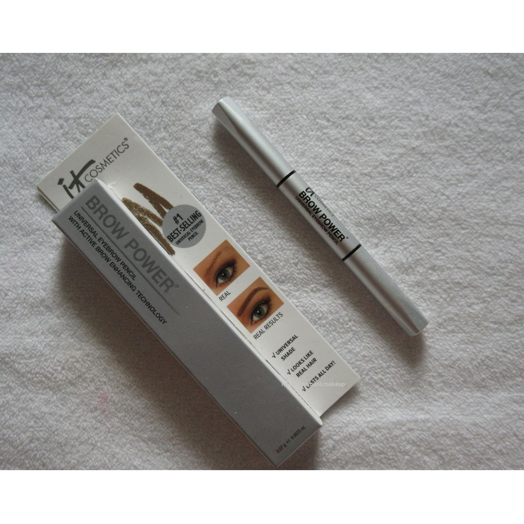 IT COSMETICS BROW POWER BROW PENCIL TRAVEL SIZE In UNIVERSAL TAUPE (No Swaps, No Offers)