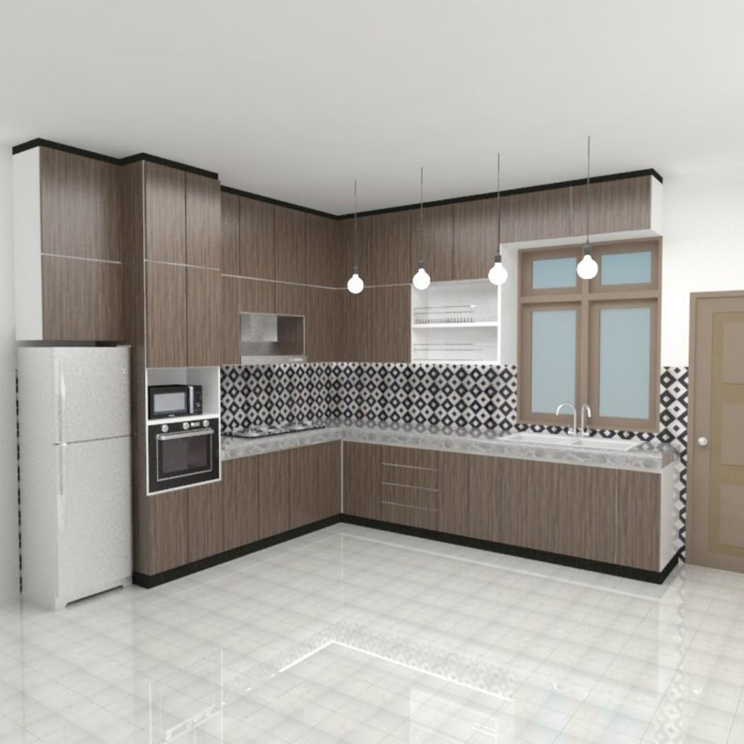 Hiasan Kabinet Dapur Desainrumahid Com