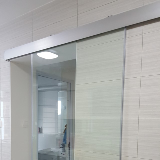 Kitchen Entrance Sliding Glass Door Home Appliances On Carousell