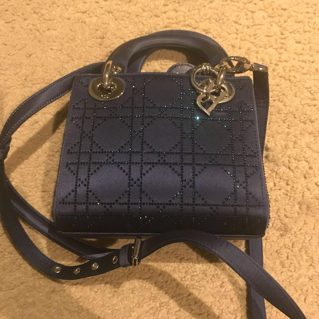 Lady Dior Bag Navy