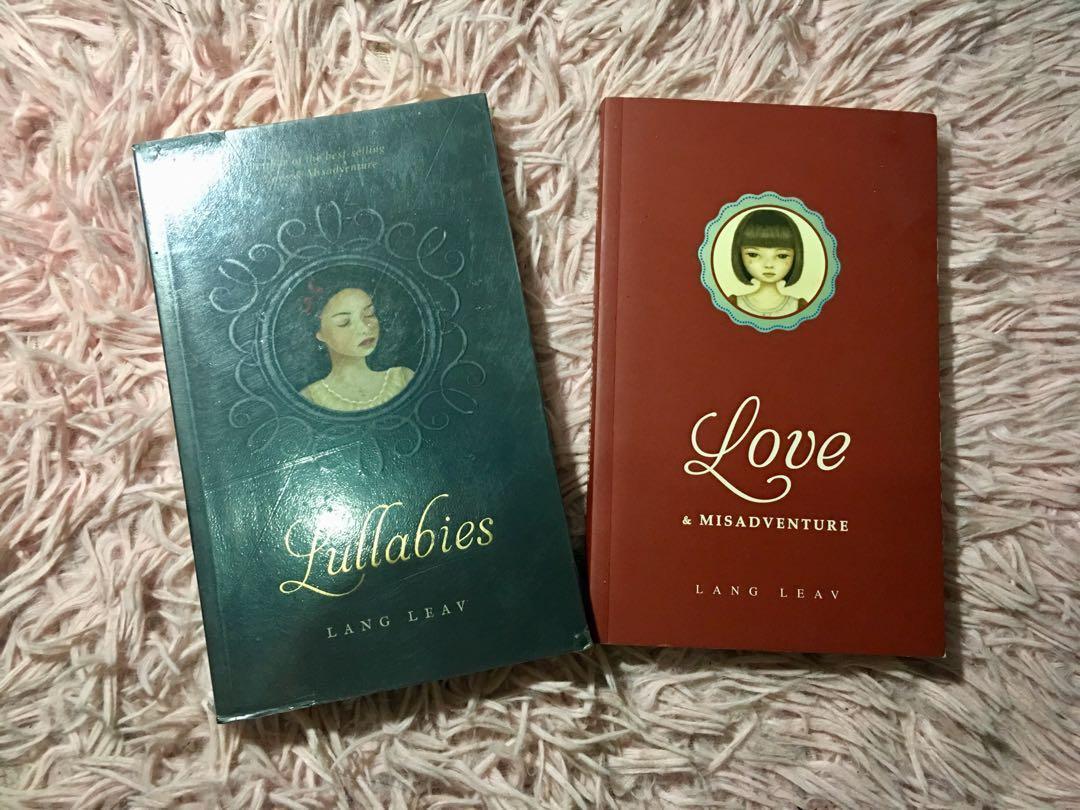 Lang Leav Books (Love and Misadventure — Reserved)