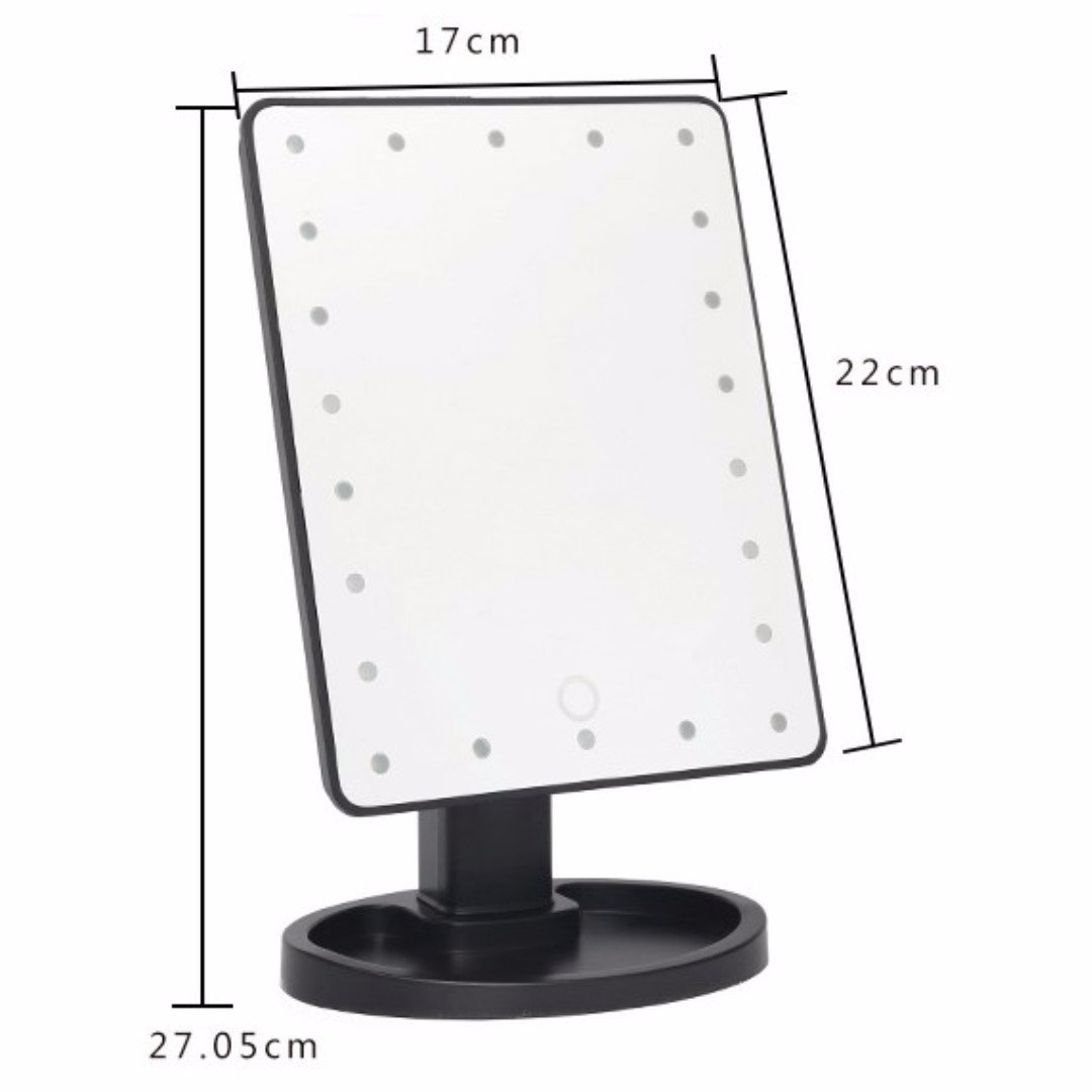 white lighting mirror light vanity lighted makeup natural ottlite daylight