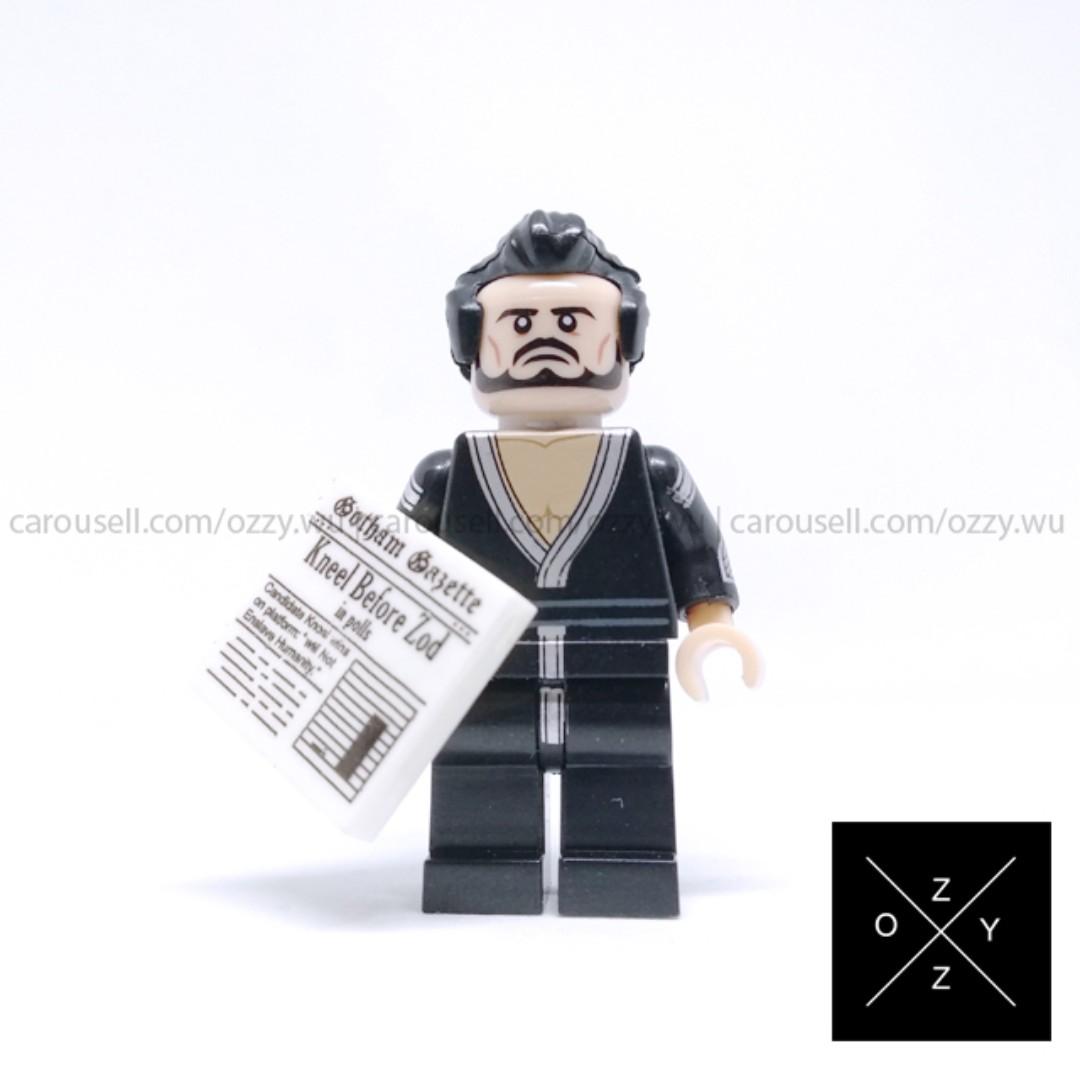 Lego Compatible DC Supeheroes Minifigures - General Zod