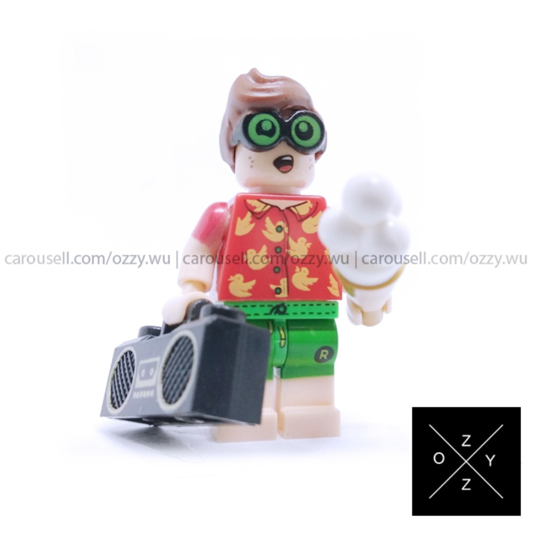 Lego Compatible DC Supeheroes Minifigures - Vacation Robin