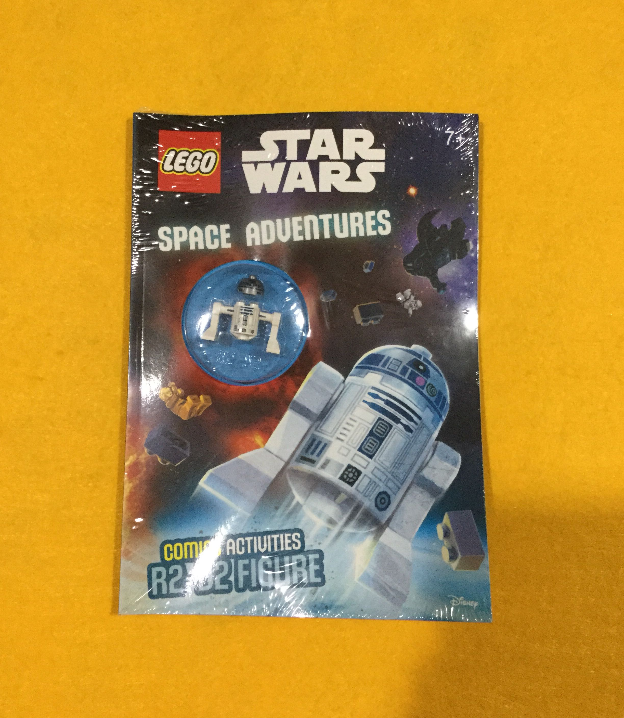 🆕Lego Star Wars: Space Adventures (Activity Book with R2-D2 Minifigure) Paperback