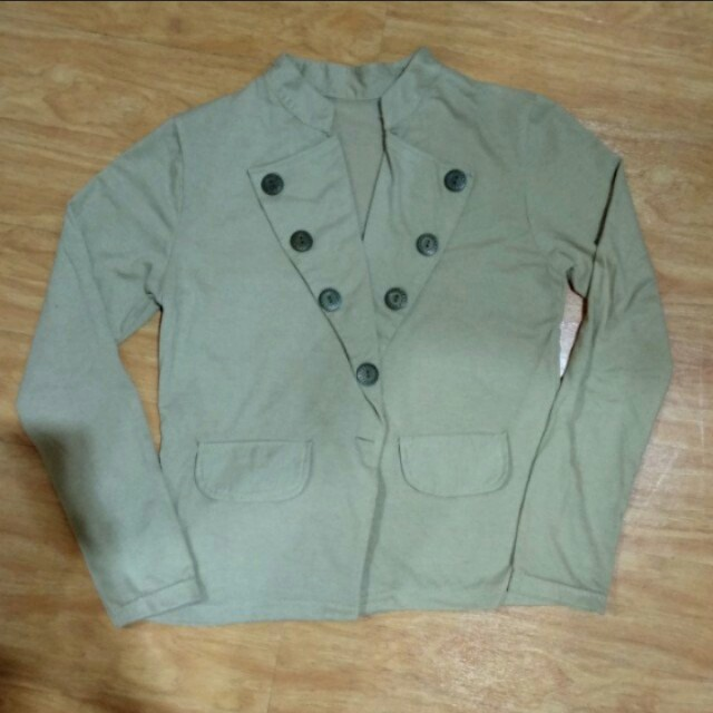 👕Light Brown Outer | Luaran Cokelat Muda