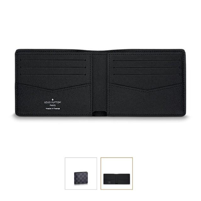 f349a438c3b9 Louis Vuitton Damier Graphite slender wallet.