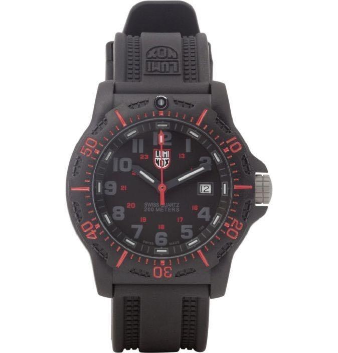 Luminox black ops carbon 8800 series