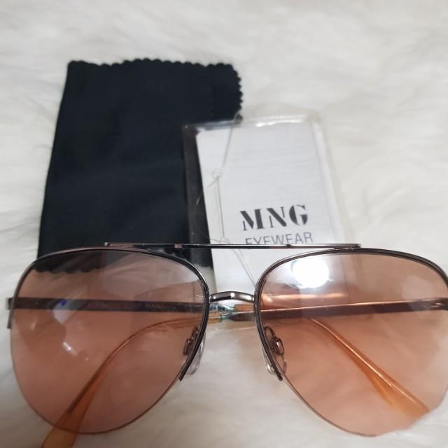 19bebe94d6 SALE  Mango Pink Lens Fashion Sunglasses