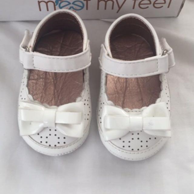 Meet my Feet White Shoes