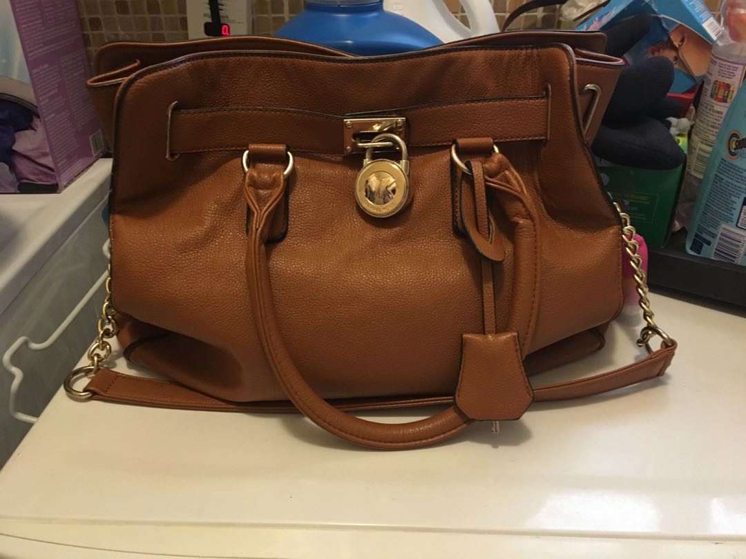 Mk brown bag non authentic but in good condition
