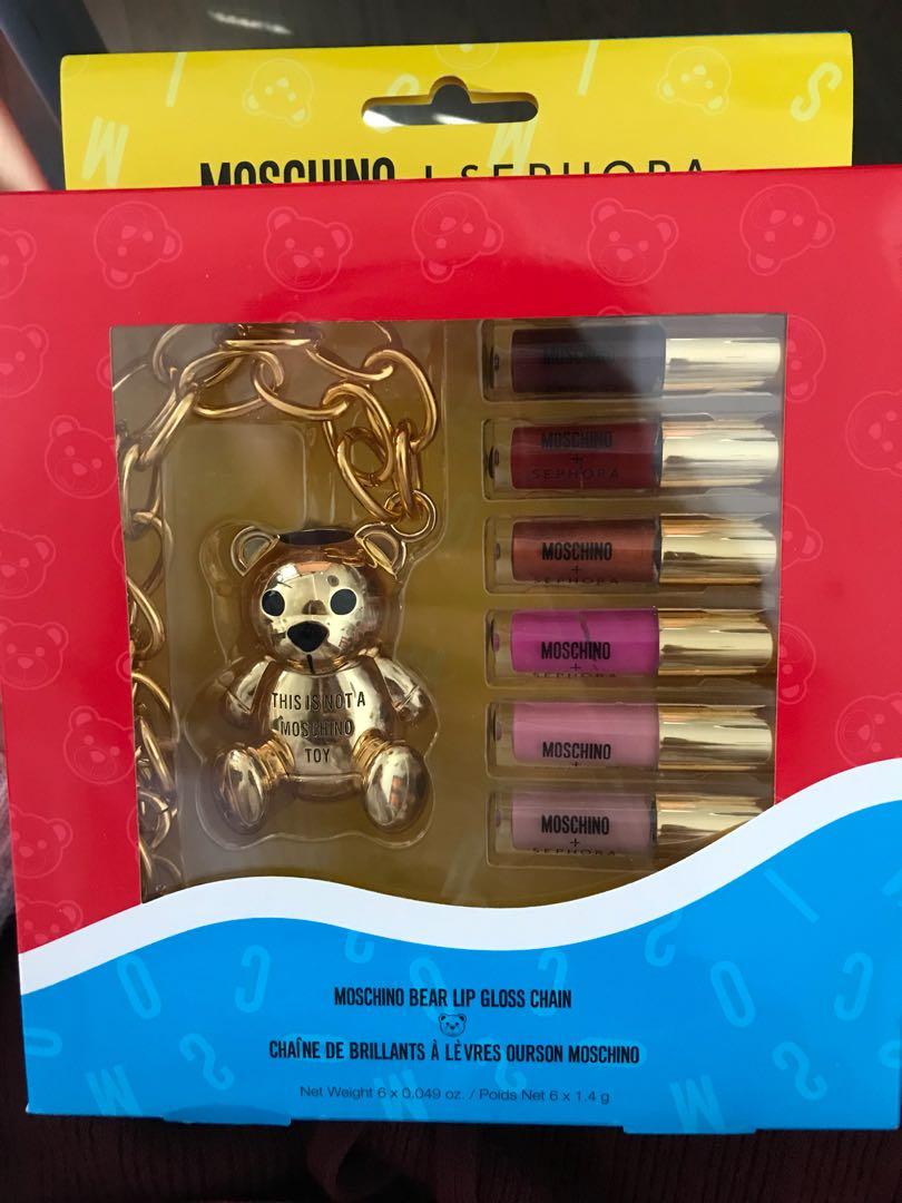MOSCHINO x SEPHORA Bear Lip Gloss Charm