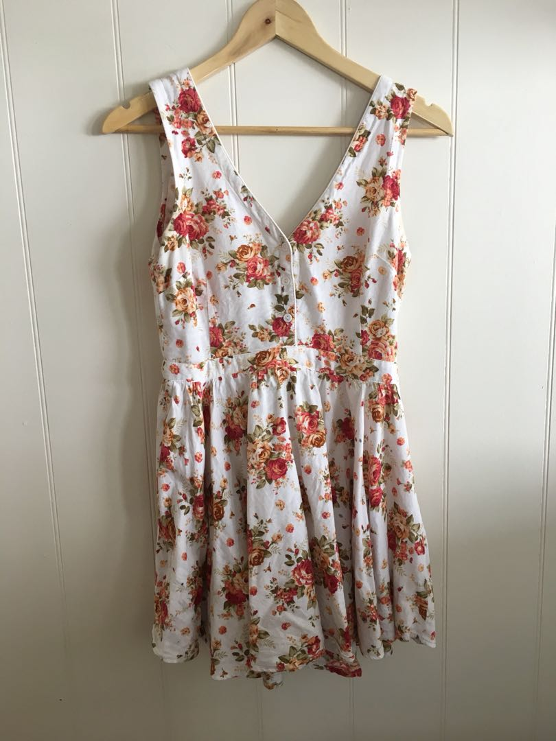 Mossman floral sundress size 8