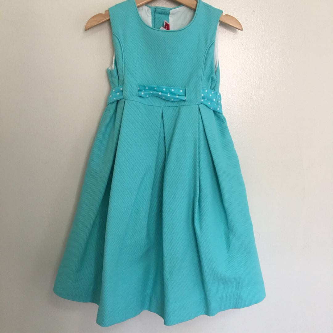 Neck and neck toddler dress