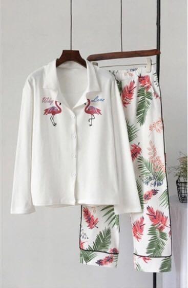 New Flamingo Pajamas
