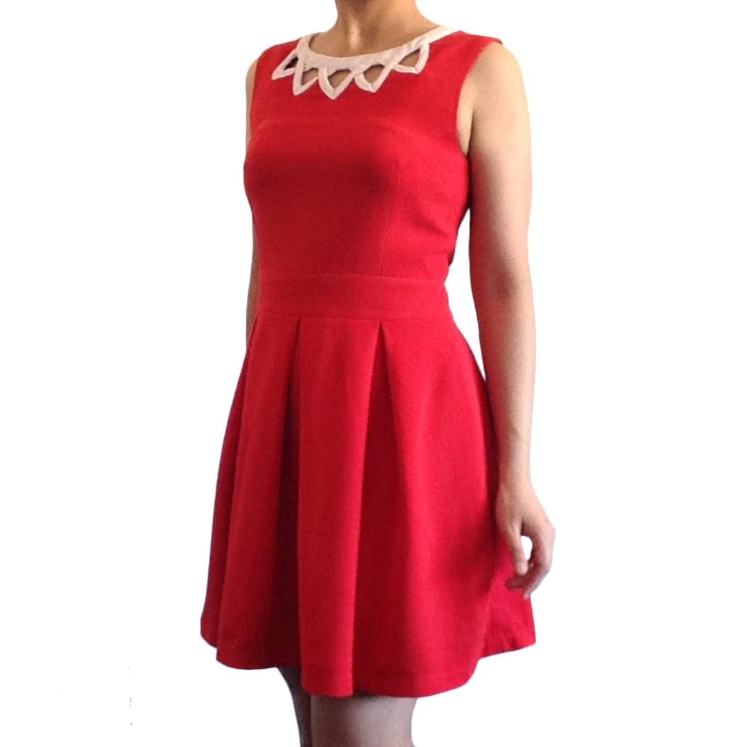 NICHII Red Dress