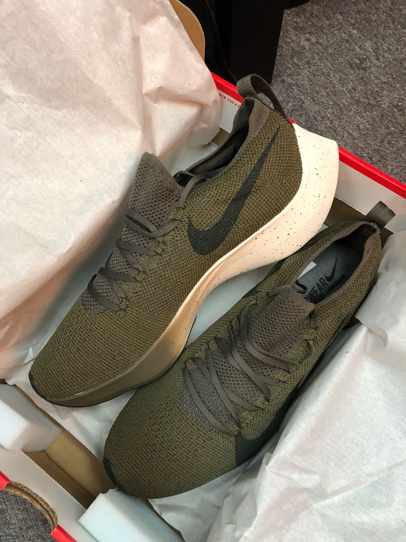 f2d21d047c Nike Vapor Street Flyknit (Olive Green), Men's Fashion, Men's Footwear on  Carousell