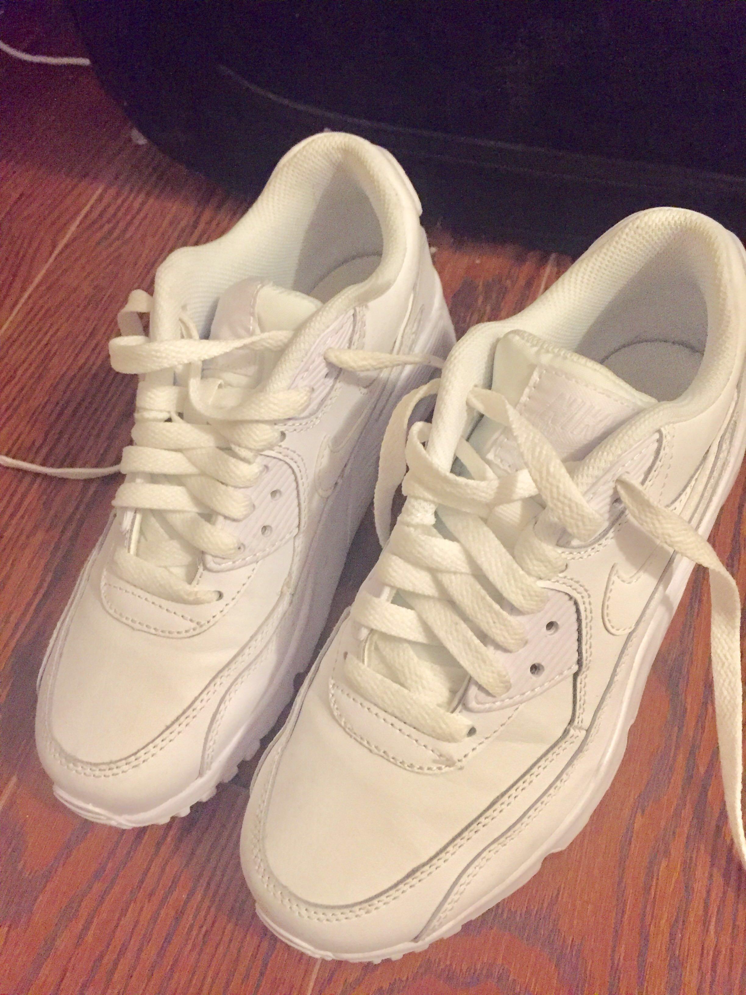 Nike, white, size 6