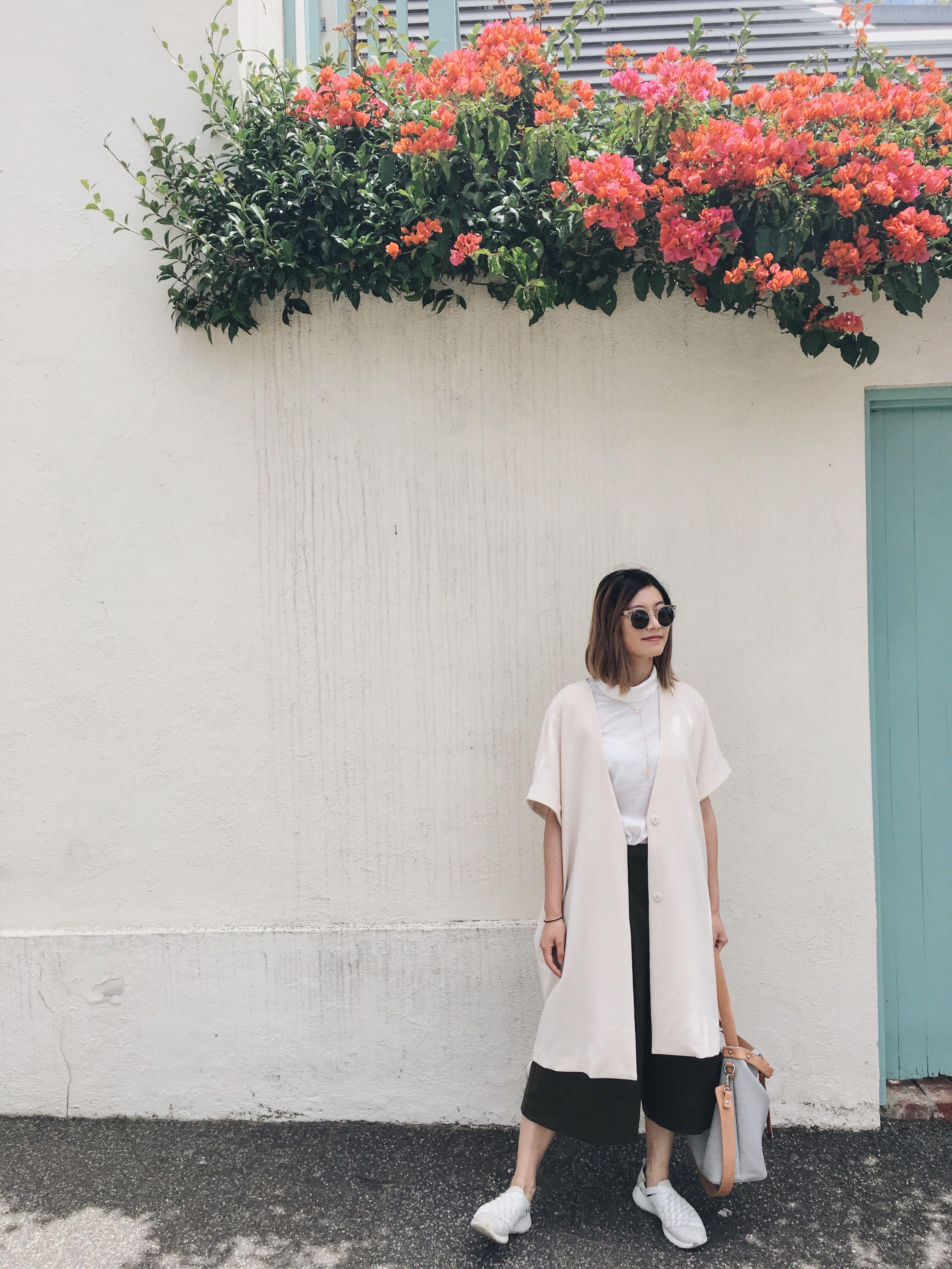 Oak and fort short sleeved jacket/dress