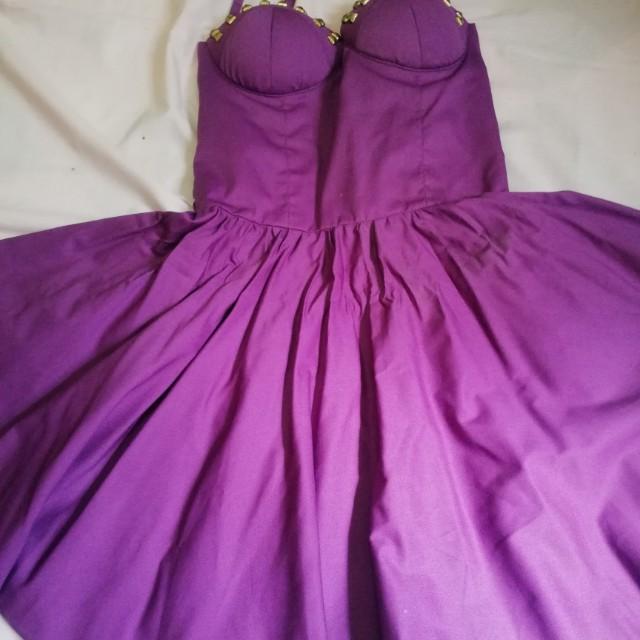 Padded dress