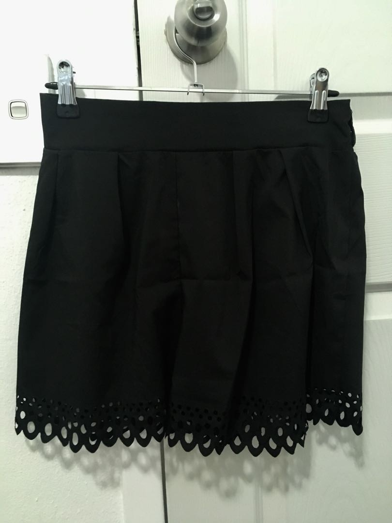 Paper bag Black Shorts