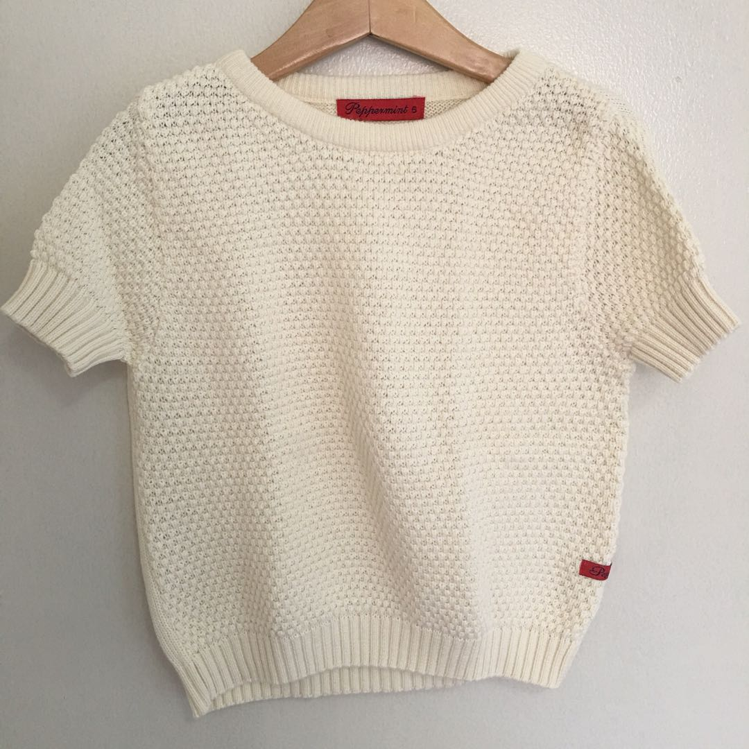 Peppermint toddler top