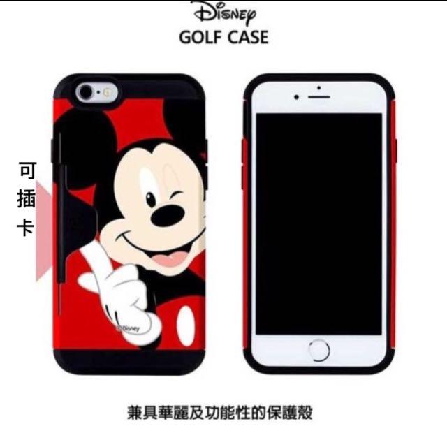 🇰🇷PhoneFoam iPhone6/6s 4.7吋迪士尼 插卡式吸震保護殼