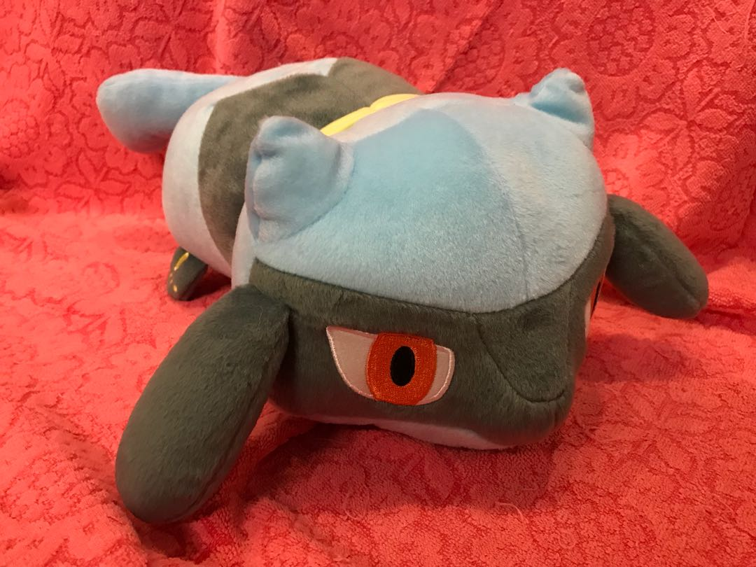 Pokemon Riolu 寵物小精靈 比卡吉神奇寶貝32cm X H