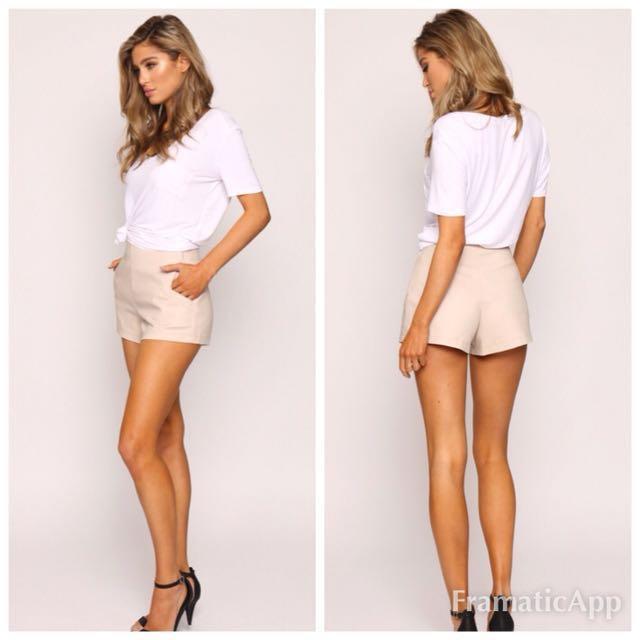 💐Popcherry Size M(10) Beige Shorts