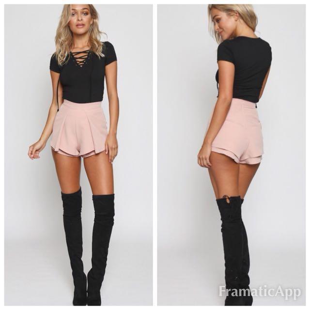💐Popcherry Size S(8) Black Shorts