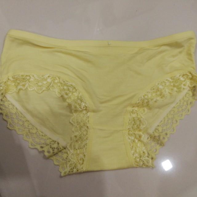new design cozy fresh shop Prelove yellow panties, Women's Fashion, Clothes, Bottoms on ...