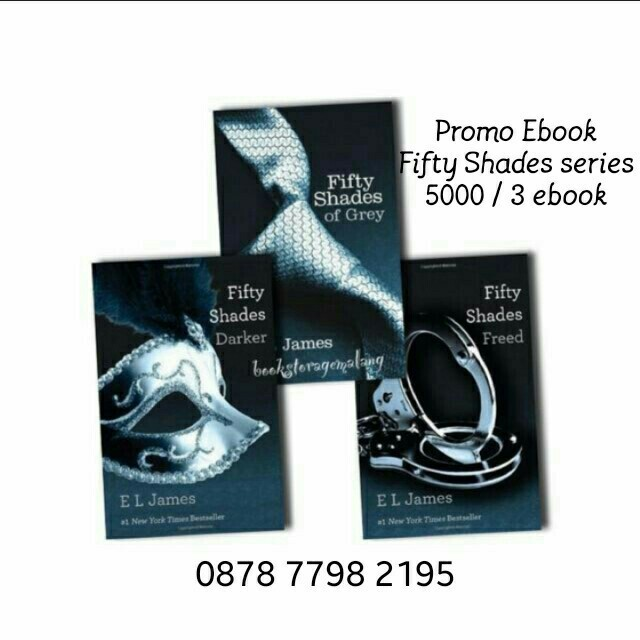 Promo ebook novel fifty shades of grey komplit