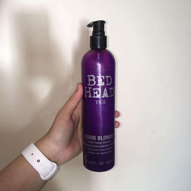 PURPLE TONING SHAMPOO DUMB BLONDE