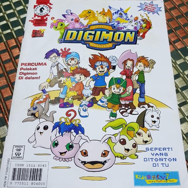 Manga Online Malaysia: Rare Digimon Bahasa Malaysia Magazine, Books & Stationery