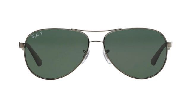 Rayban shades gunmetal RB8313, Men s Fashion, Accessories, Eyewear ... 3be0d07f7df1