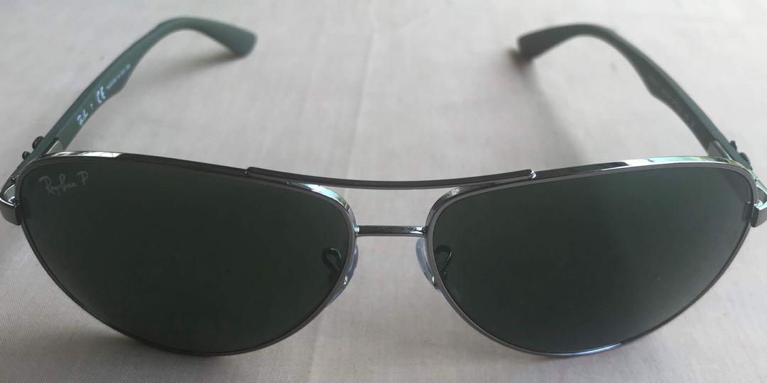 7c08cde8e271 Rayban shades gunmetal RB8313