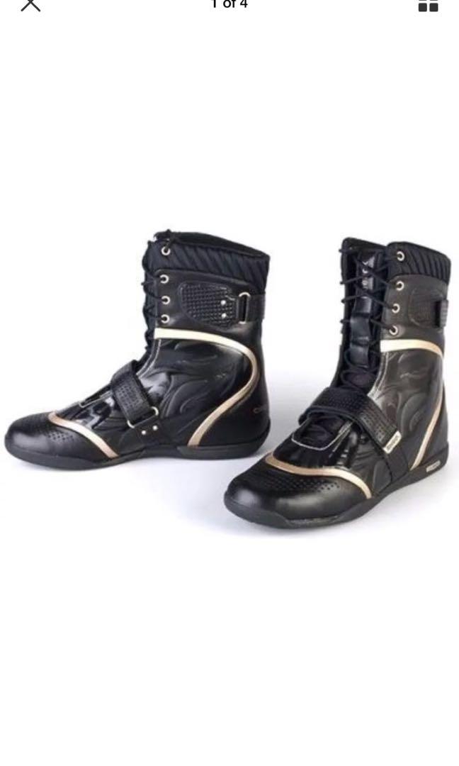 Reebok cirque du soleil dmx ride High Top Boots Women's Size 10.5 / 27.5 NEW !!