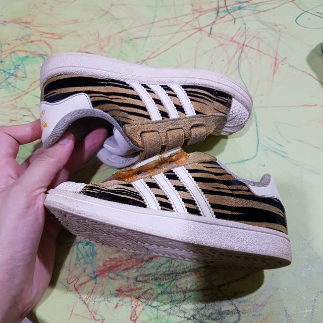 REPRICE Adidas Superstar Tiger CF I Kids Shoes Original
