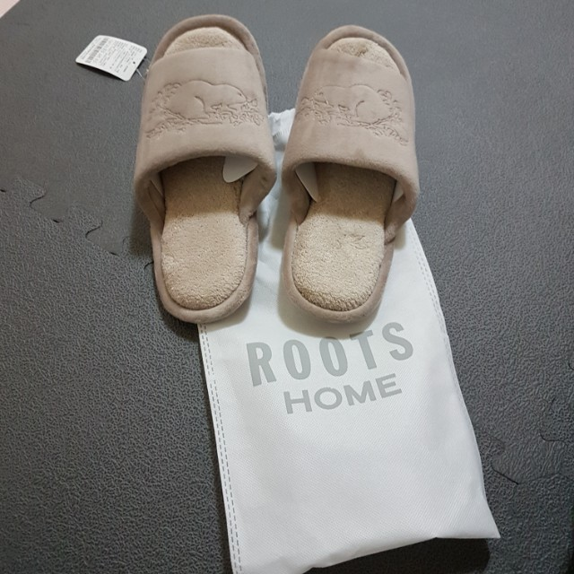 Roots 經典保暖室內拖鞋 m號