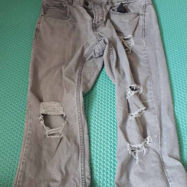 Sale Jeans robek pull and bear