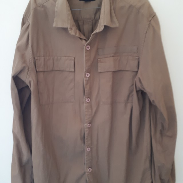 Sale kemeja outer pull and bear