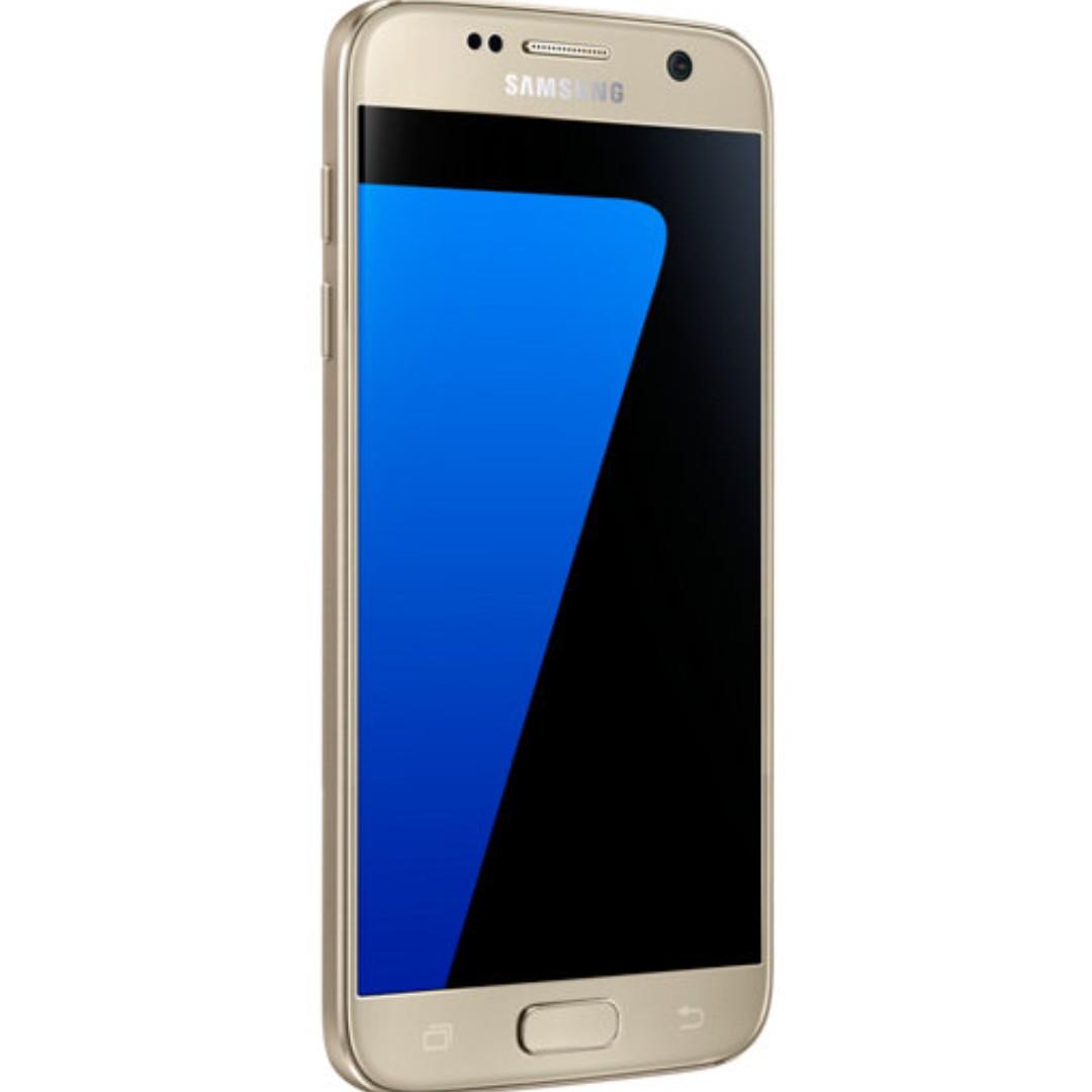 Samsung S7 with Spigen Slim Armor Case Gold