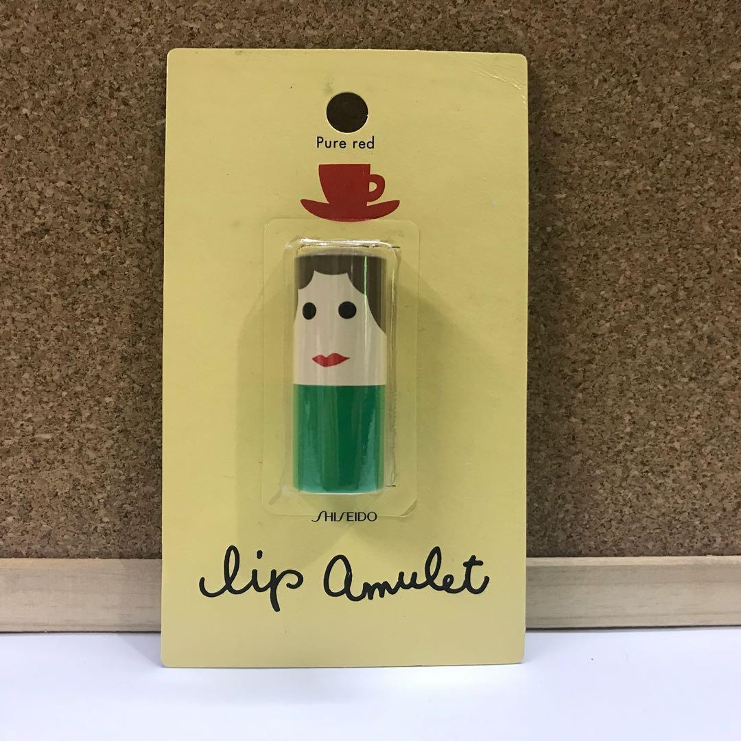 SHISEIDO Lip Amulet / Lip Balm / Pure Red