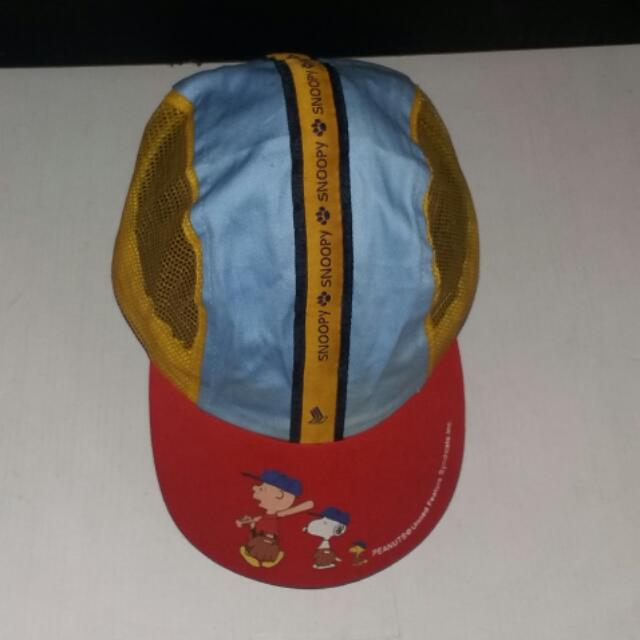 Snoopy By Peanuts Ball Cap For Kids Singapore Airlines Original Merchandise