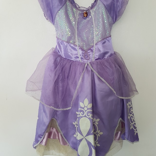 REPRICED Sofia the First Gown / Costume for Kids / Preloved Gown ...
